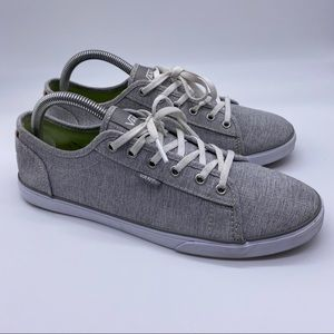 VANS Ortholite women's Gray Lace Up Sneakers